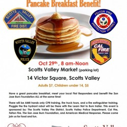 Scotts Valley Market Pancake Breakfast